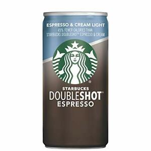 Starbucks Doubleshot, Espresso + Cream Light, 6.5 Ounce, 12 Pack FREE SHIPPING