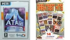 atari anniversary edition & first star greatest hits  new&sealed