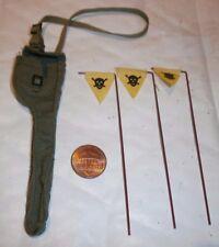 Dragon DAK pioneer warning flags ( Rolf Seeger ) 1/6th scale toy accessory