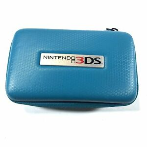 Teal Padded Zip Case for Nintendo 3DS + Games/Accessories
