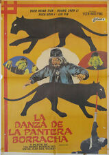 La danza de la pantera borracha  -- Cartel de Cine Original --