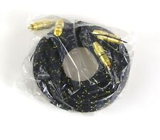 Chinch (RCA) Cable - Audio Cable - Stereo - 5,0 Meter - NEW