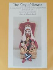 Cloth Doll Sewing Pattern The King Of Hearts Alice In Wonderland Lewis Carroll