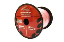 18 GA gauge 500' Red Audiopipe Car Audio Home Primary Wire