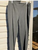 Talbots Grey Pants Heritage Dress Career Slacks Straight Leg Womens Size 6