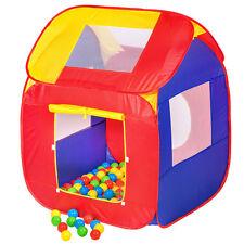 Kinderspielzelt mit 200 Bällen Kinderzelt Bällebad Spielhaus Spielbälle