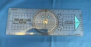 Portland Chart Course Plotter BH Navigation Blundell Harding - Marine, Nautical