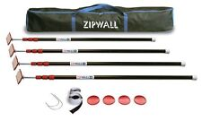 ZipWall ZP4 Low Cost Spring Loaded Pole Kit with Carry Bag