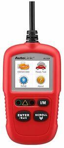 Autel AL329 AutoLink Upgraded AL319 Code Reader OBDII Scanner New Free Shipping