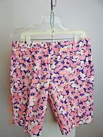 LANDS END MID RISE Multicolor Shorts Woman's Size 8 - GOLF, Active, Bermuda