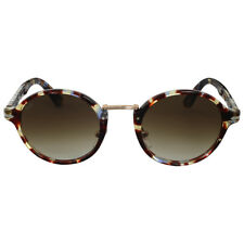 Persol Round Brown Gradient Sunglasses