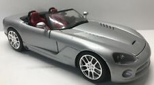 Hotwheels Dodge Viper RT-10 Silver/Red 1/18 Scale Diecast 1:18