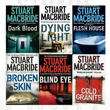 Stuart MacBride Collection Logan Mcrae 6 Book Set(Blind Eye,Flesh House,Broken