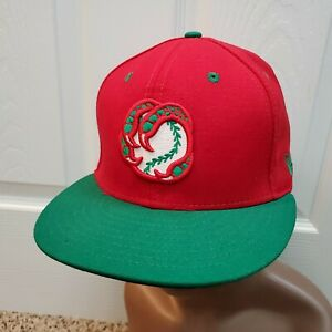 Boise Hawks New Era Made in USA 100% Wool Authentic Adjustable Snapback Hat Cap