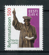 Estonia 2017 MNH Reformation 500th Anniv Martin Luther 1v Set Religion Stamps