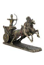 "11.5"" Egyptian Ramses the Great Shooting Arrow Chariot Pharaoh Ramesses Statue"