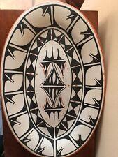 Large Santo Domingo Pottery Platter By Delmer And Trini Tonorio, Signed