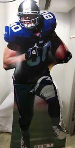2003 New York Giants #80 Jeremy Shockey NFL Replica Signature Life Size Standee