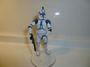 Star wars loose hasbro kenner 3.75 inch clone trooper 501st batallion