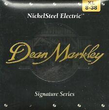 DEAN MARKLEY Jeu Cordes électrique NICKEL STEEL Signature 08-38 - 2501
