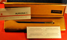 """Aurora"" Thesi  Original 1970's Design - Gold & Blue Lacque Ball point pen"