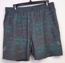 "New Men's Tasc 5"" 2 in 1 Shorts - Size L - Free Shipping!"