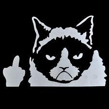 Funny Grumpy Cat For JDM Auto Car/Bumper/Window Vinyl Decal Sticker Decals New