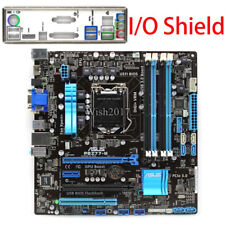 for ASUS P8Z77-M Motherboard Intel Z77 LGA1155 MicroATX I/O Shield Tested
