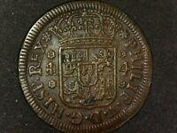 4 maravedís Segovia 1743 Felipe V España