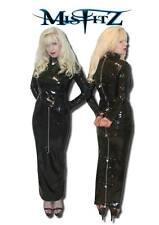 Misfitz pvc padlock hobble strait jacket dress. Sizes 8-32 or made to measure