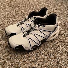 Salomon Speedcross 3 Running Trail Shoes White & Black Excellent Cross Training