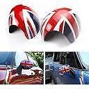 Mirror Cap Cover Set Union Jack Genuine Mini R56 Countryman Cooper 51160415076