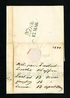 Austria Stampless 1844 Cover