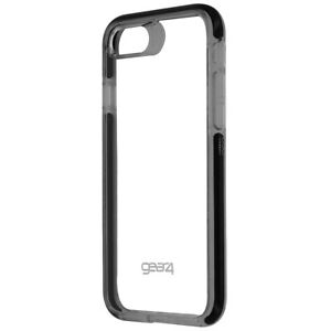 Gear4 D30 Piccadilly Hybrid Hard Case Cover for Apple iPhone 8 / 7 - Clear/Black