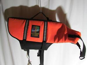 Outward Hound Pet Gear Life Jacket Flotation Vest Orange Size Medium