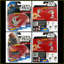 Hot Wheels Star Wars 2 Lot YODA'S JEDI STARFIGHTER #30 & THE KHETANNA #29 New