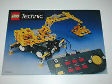 VINTAGE LEGO 1990 CATALOG FOLDER 'TECHNIC / MODEL TEAM' DUTCH