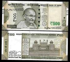"Rs.500/- Urjit Patel  Star Note ""E"" Inset  Prefix 9LM  2017 - UNC  LATEST"