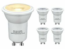 5 x 3w LED Small Mini GU10 35mm Light Bulb Warm White Replacement for Small H...