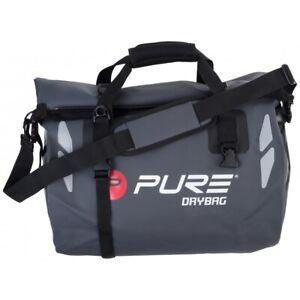 Pure2Improve Unisex's Waterproof Sports Bag 35 Litre Black/Grey
