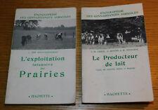 2 encyclopedie connaissances agricoles EXPLOITATION PRAIRIES producteur de LAIT
