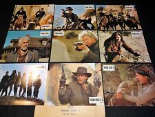 YOUNG GUNS 2  k sutherland , estevez ..  jeu 9 photos cinema lobby cards western