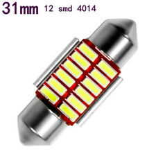2Pcs 31mm 4014 12SMD C5W Car LED Light Canbus Dome Interior Reading LampLDUK