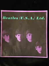 BEATLES-1964-TOUR ORIGINAL CONCERT PROGRAM BOOK-U.S.A.-EXCELLENT