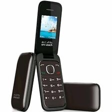 Brand New Black Unlocked Sim Free Flip Big Button Basic Mobile Phone Boxed