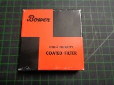 1 x Bower High Quality Coated Filter; UV; 25.5mm