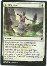 1x Foil - Center Soul - Magic the Gathering MTG Dragons of Tarkir