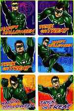 GREEN LANTERN HALLOWEEN STICKERS x 6 - Trick or Treat - Justice League - Gifts