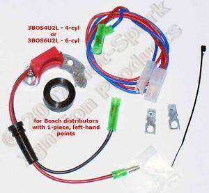 Electronic Ignition Conversion: Porsche 912 1-Piece, Left-Hand Points - 3BOS4U2L