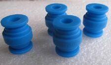 JMT 4pieces PTZ Gimbal AV Ball Damping Rubber Ball Blue for FPV Camera Mount